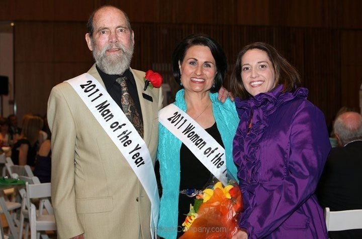 Man and Woman of the Year 2011-sashes
