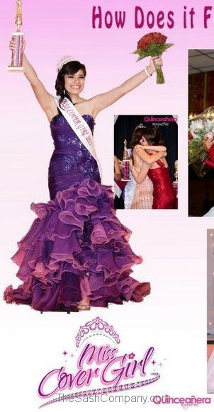 Quinceanera Magazine Miss Cover Girl 2011