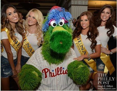 Phillie Phantic at Hamel Foundation and Benari Jewelers Sashes