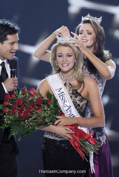 Miss America 2007 Lauren Nelson Crowning Moment