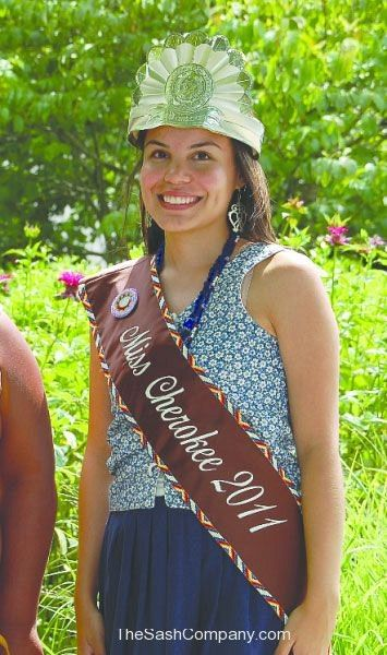 Miss Cherokee 2011 Eastern Band of Cherokee Indians Ambassador