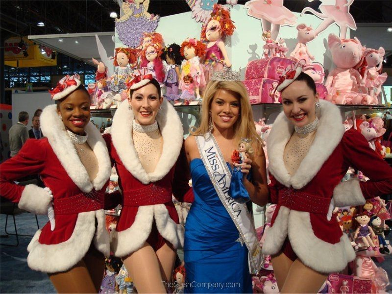 Miss America & 90th Anniversary Madam Alexander Doll & the Rockettes