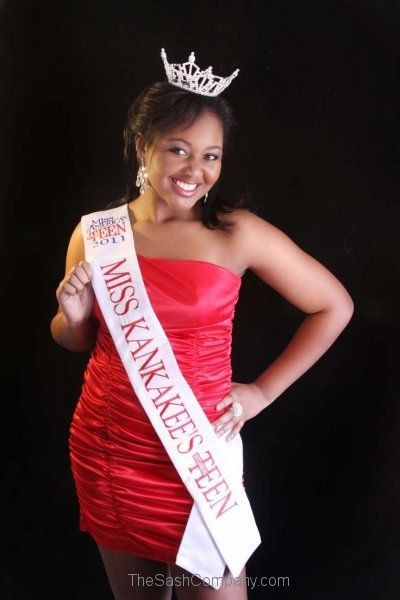 Miss America's Miss Kankakee's Outstanding Teen Local Sash