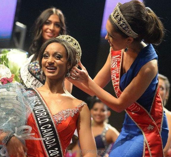Miss World Canada 2013 Camille Munro Crowning