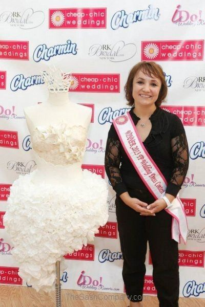 Charmin Toilet Paper Dress Competition 2013