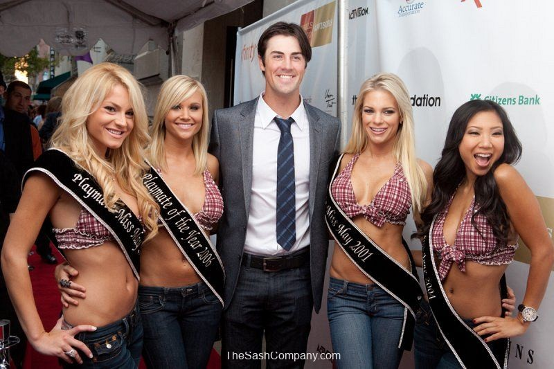 The Hamels Foundation and Playmates Charity Event Photo