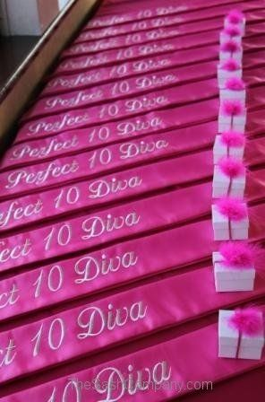 Beauty Society Pink Sashes 2013