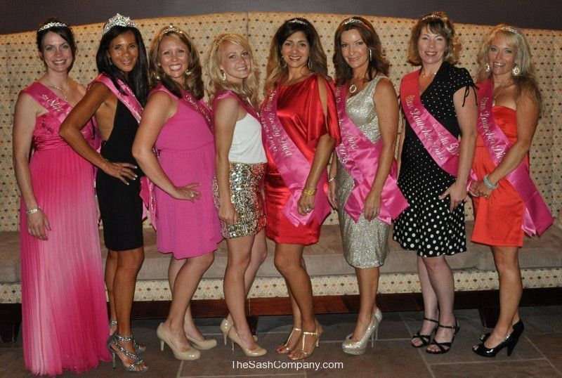 The Beauty Society Sashes from 2008 - 2013
