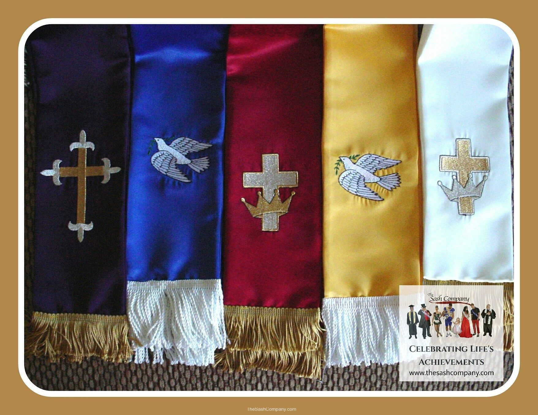 Clergy Minister Sash Stoles