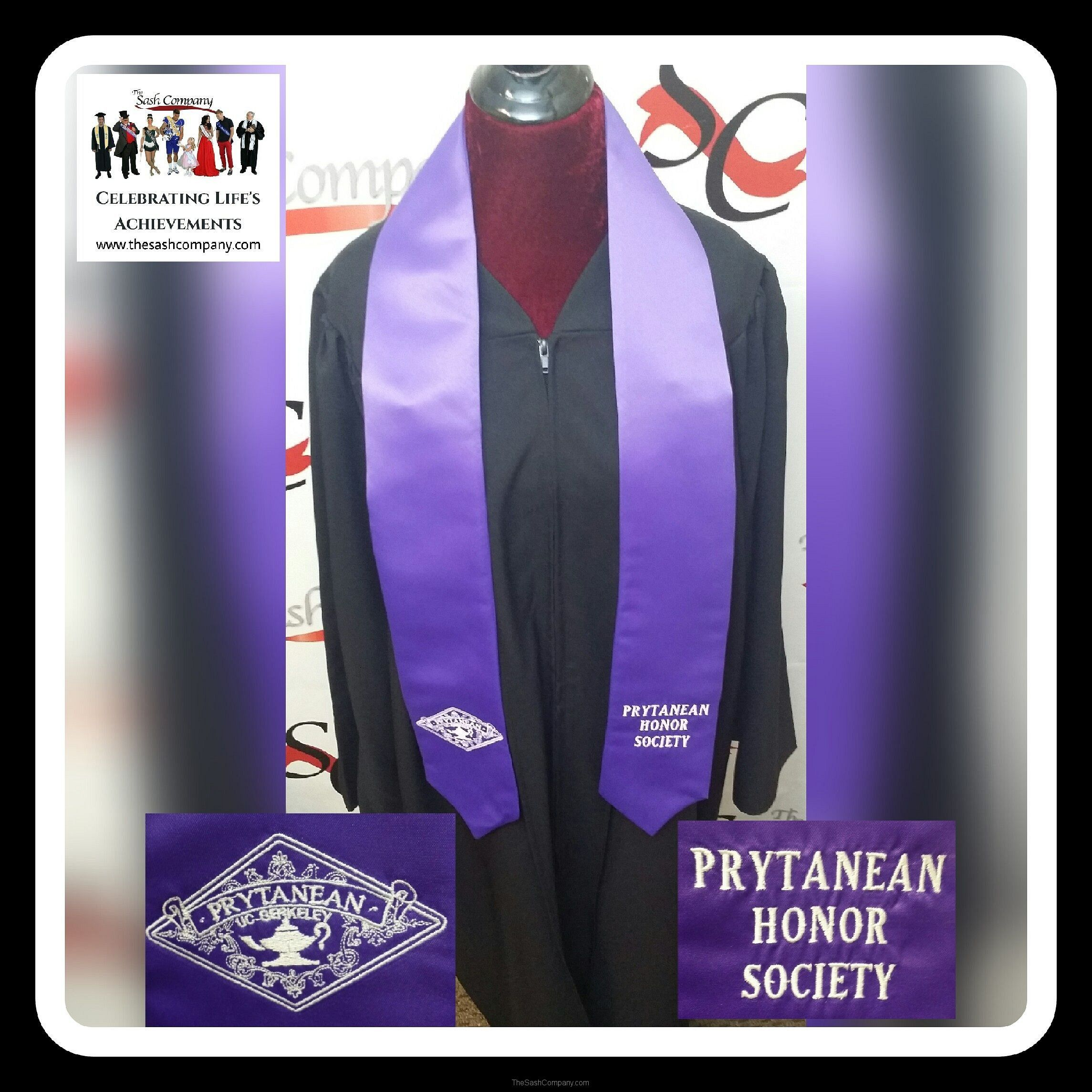 Prytanean Honor Society Graduation Stoles