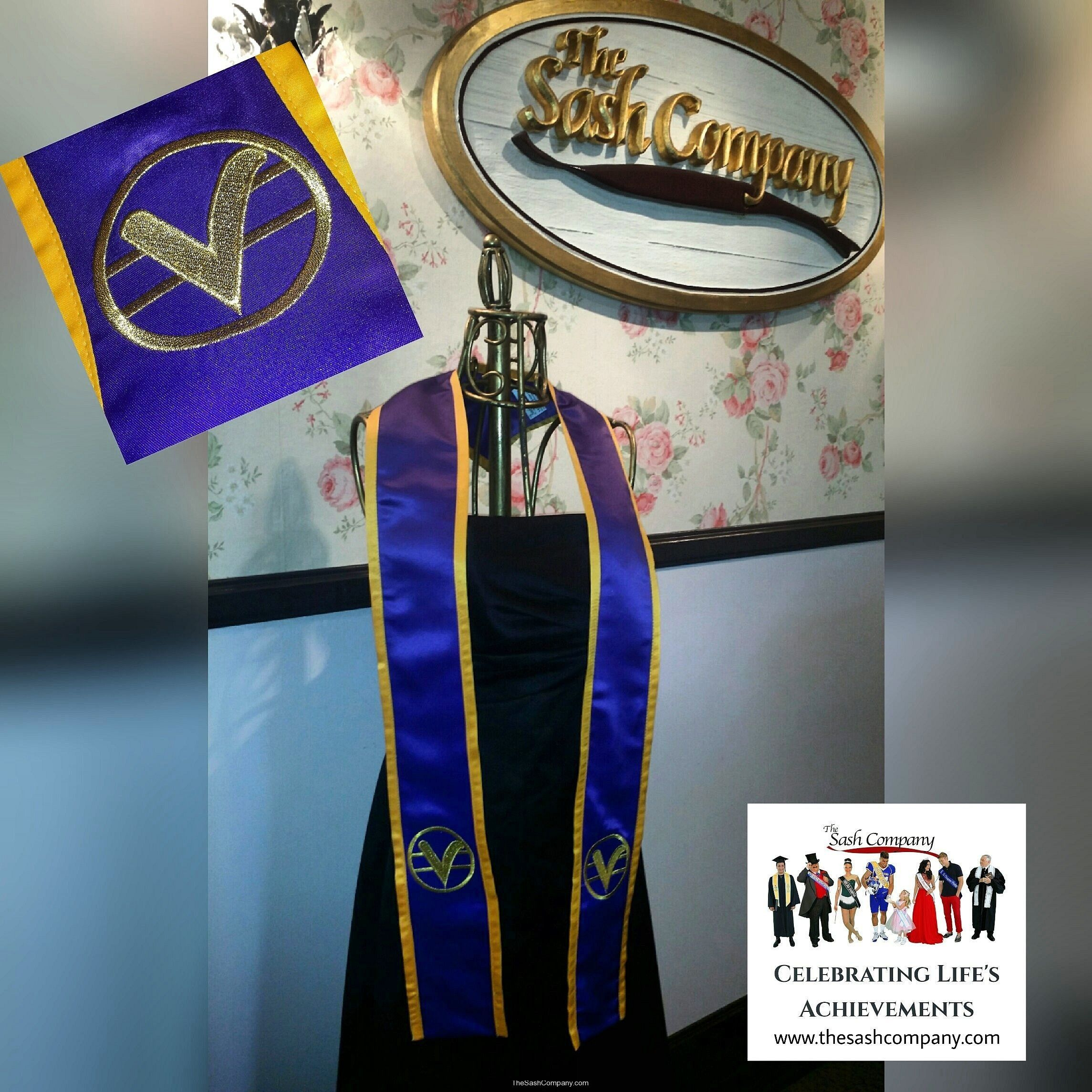 Centers for Spiritual Living Sash Stole