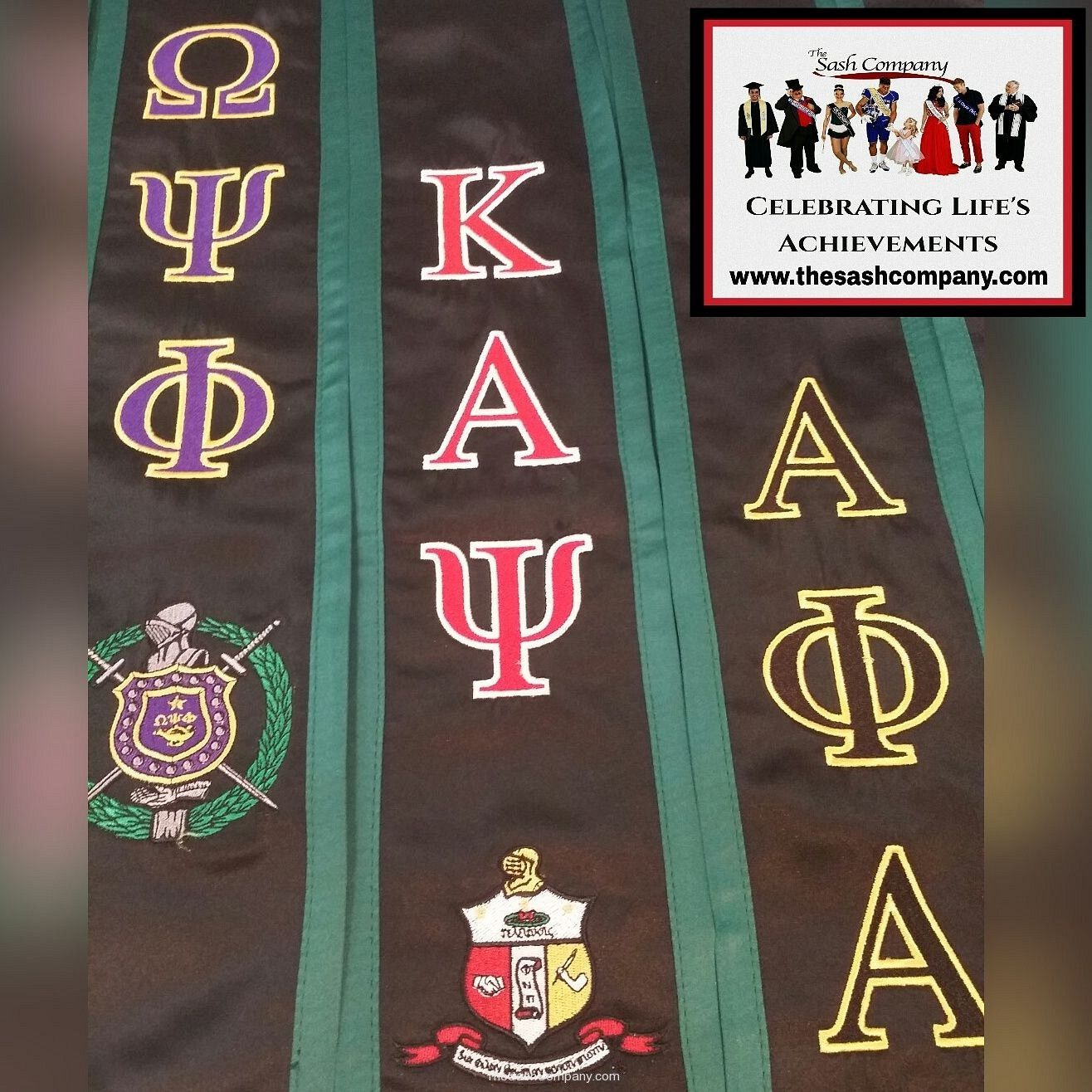 Greek Club Graduation Stoles