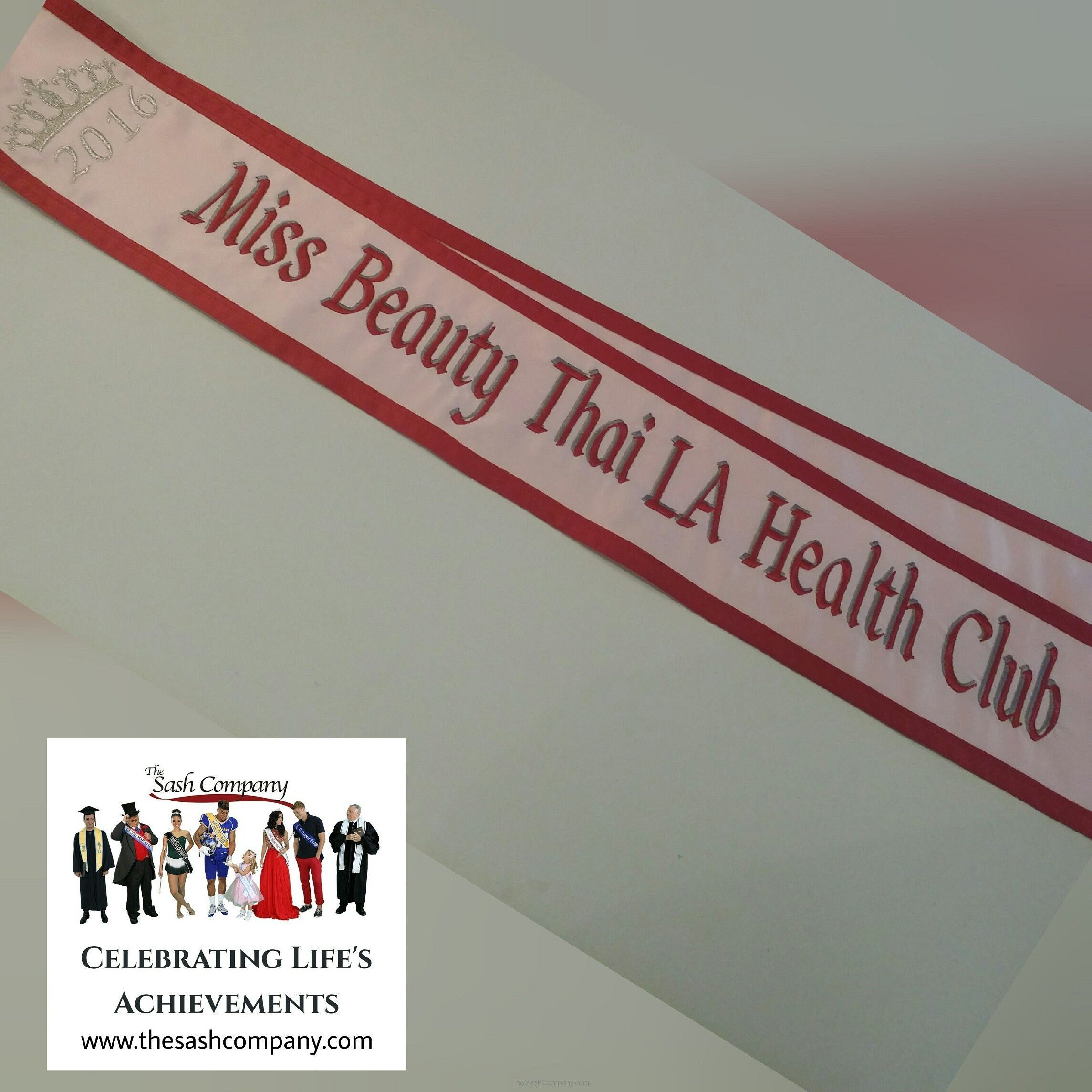 LA Health Club, Miss Beauty Thai Pageant Sash