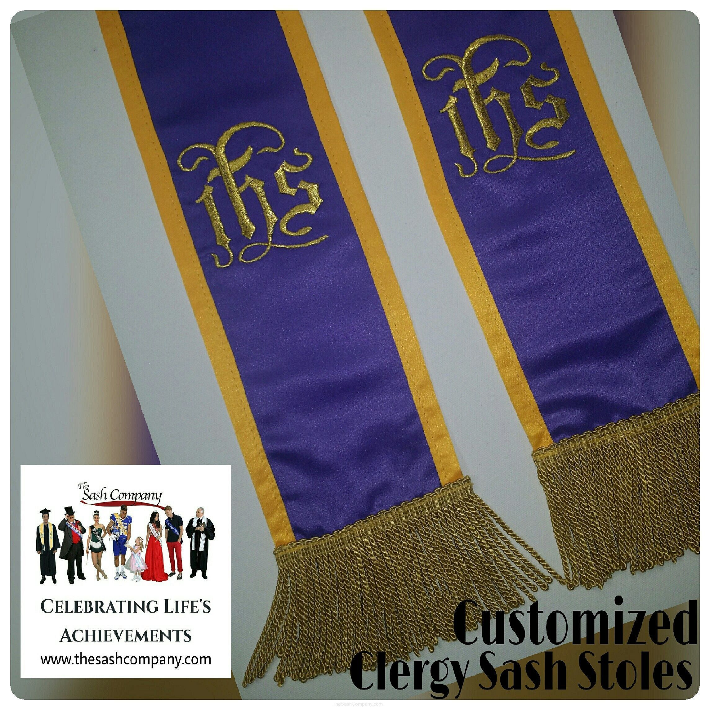 Minister Clergy Sash Stole