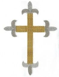 baptism cross embroidery