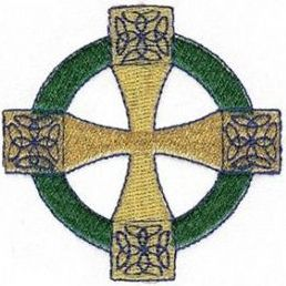 celtic cross embroidery
