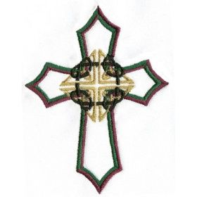 celtic knot cross embroidery