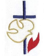 holy spirit dove embroidery