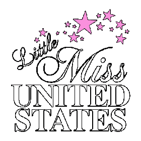 little-miss-logo-for-sashes Official Miss United States Pageant Sashes - National, State and Local