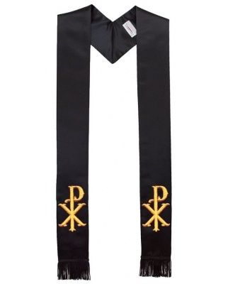 christ_name_symbol_clergy_stole_black_wf