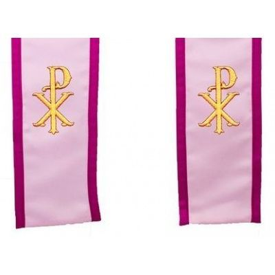 christ_name_symbol_clergy_stole_pink_wba