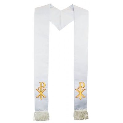 christ_name_symbol_clergy_stole_white_wf