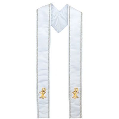 christ_name_symbol_clergy_stole_white_wr