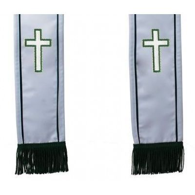 christian_cross_clergy_stole_white_dbgreenfa