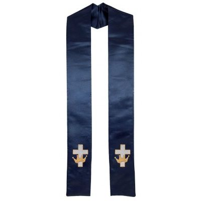 crown_w_cross_clergy_stole_navy_blue