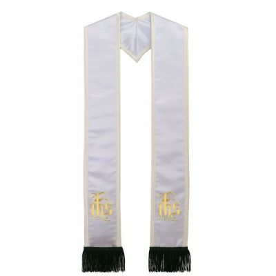 name_of_christ_symbol_-_in_his_service_-_white_w_creme_border__black_fringe_9