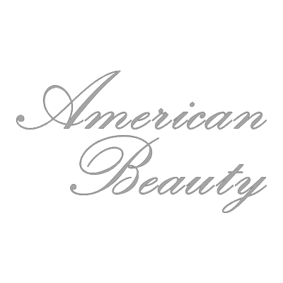 American Beauty Logo Grey