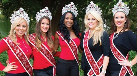 American Beauty National sashes winners
