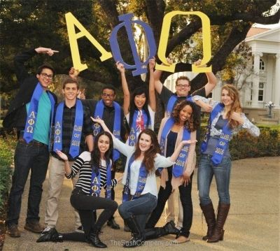 Group Greek Custom Graduation Stoles