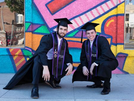 Custom Graduation Stoles, Custom Greek Grad Stoles