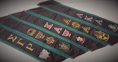 Custom Greek Graduation Sashes & Grad Stoles